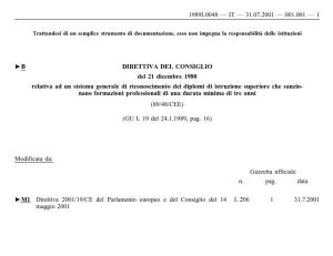 direttiva europea 1988